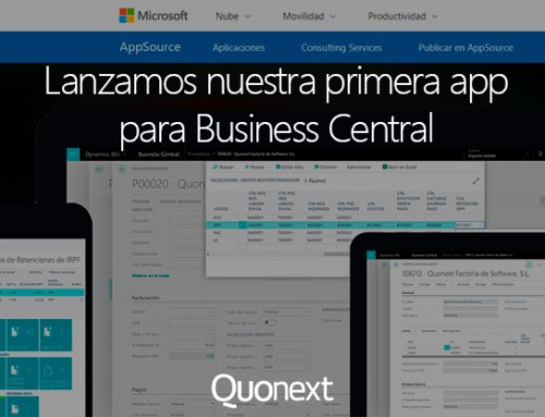 Lanzamos nuestra primera app para Business Central