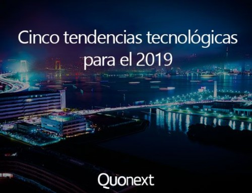Cinco tendencias tecnologicas 2019
