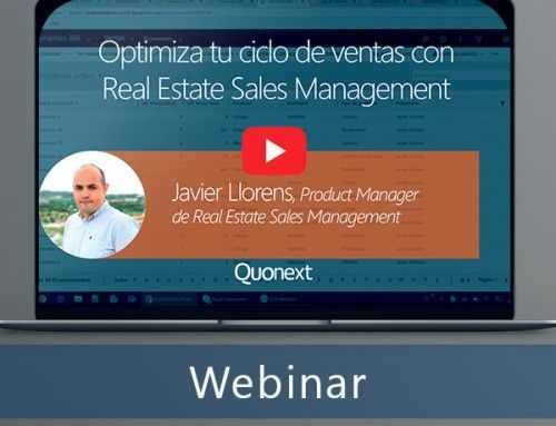 Optimiza tu ciclo de ventas con QuoReal Estate for Sales