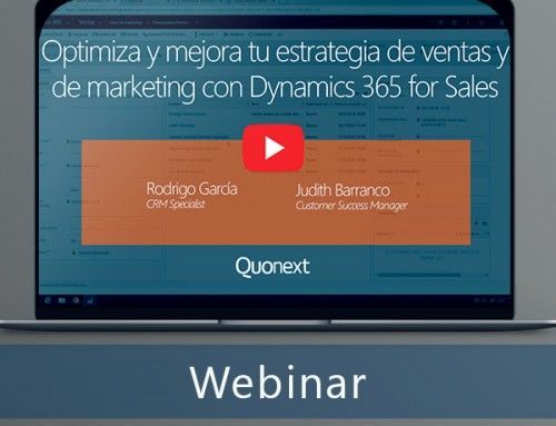 Optimiza y mejora tu estrategia de ventas y de marketing con Dynamics 365 for Sales