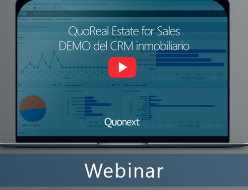 Vídeo: QuoReal Estate for Sales, demo del CRM inmobiliario