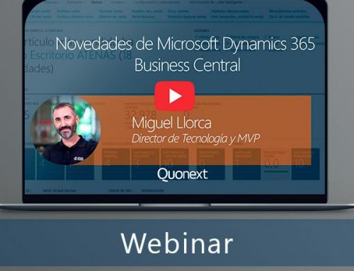 Novedades de Microsoft Dynamics 365 Business Central