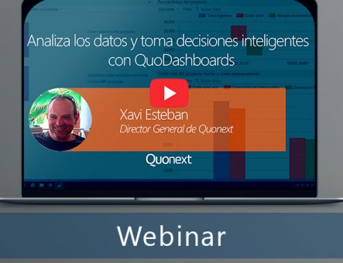 Analiza los datos y toma decisiones inteligentes con QuoDashboards